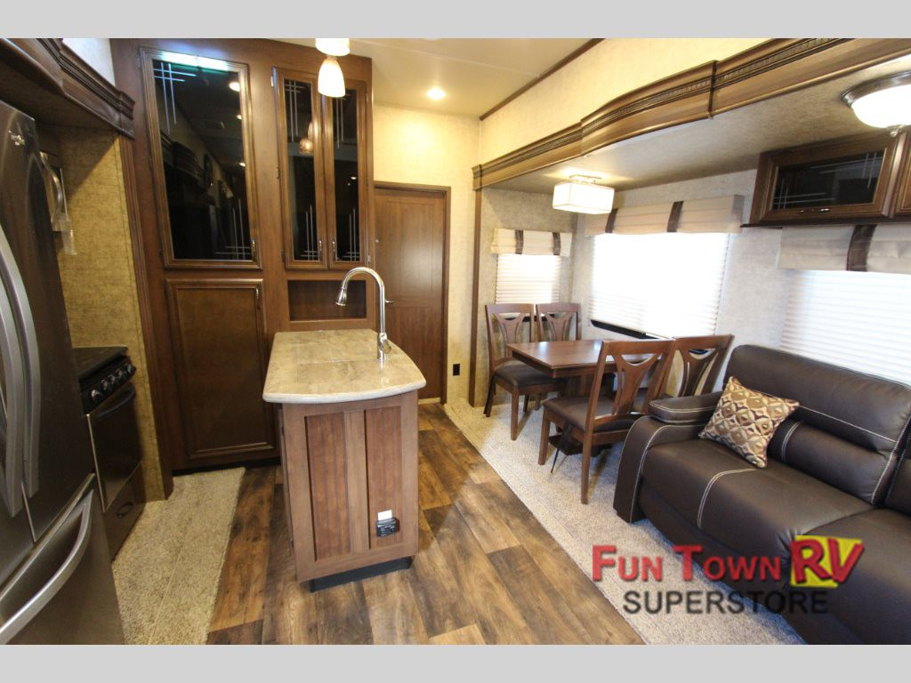 Sandpiper Fifth Wheel Living Area