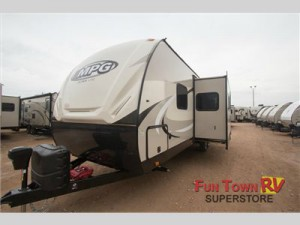 The Cruiser MPG travel trailer.