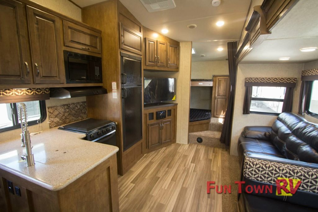 Forest River Sabre Lite Fifth Wheel Interior