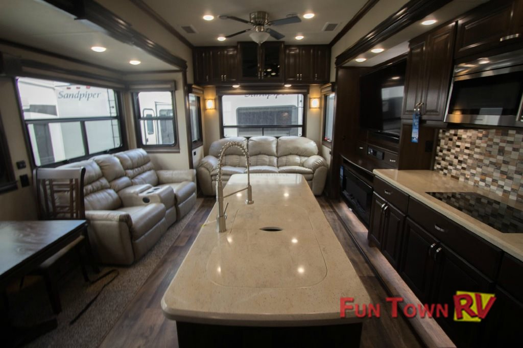 Forest River Riverstone Fifth Wheel Interior