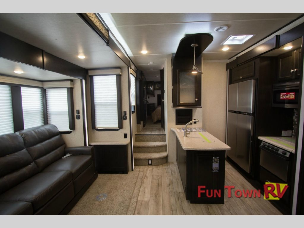Heartland Road Warrior Fifth Wheel Toy Hauler Interior