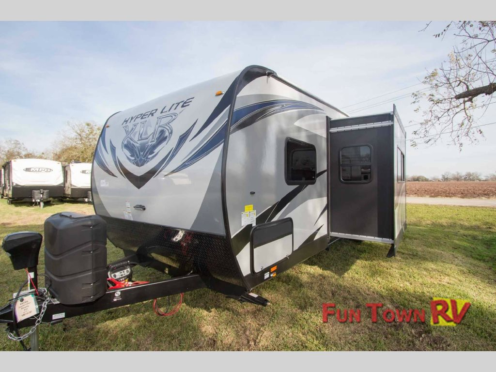 Forest River XLR Hyper Lite 29HFS Toy Hauler Travel Trailer