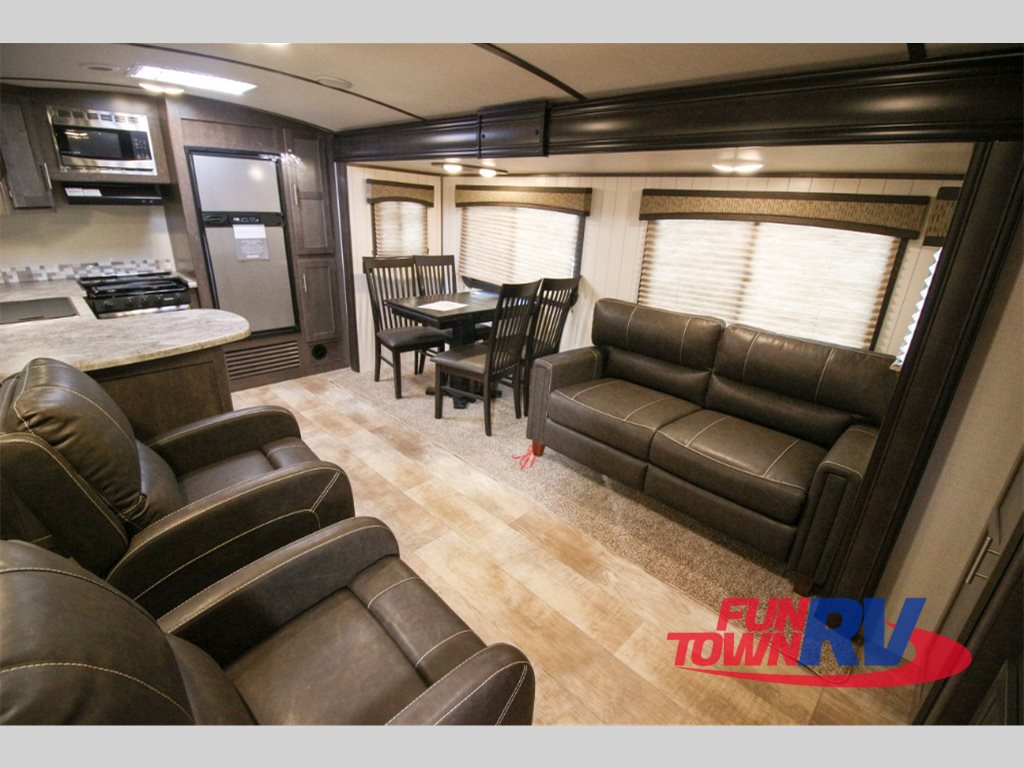 Crossroads Sunset Trail Super Lite Travel Trailers Rear Kitchen
