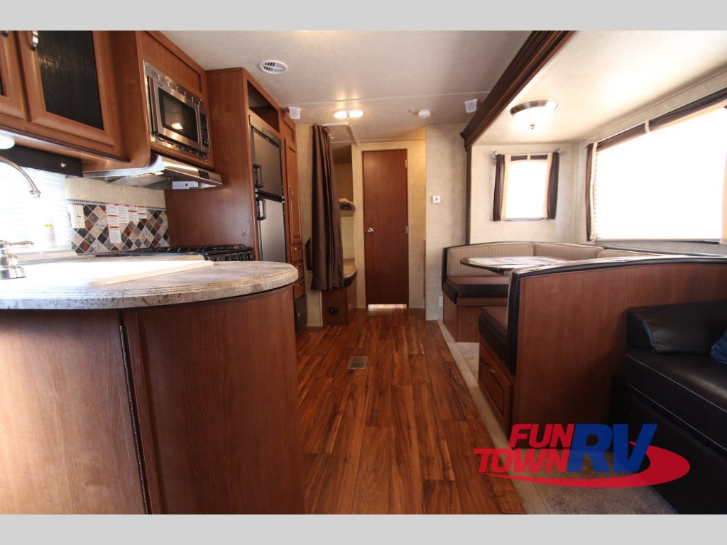 Forest River Wildwood 28DBUD Travel Trailer Interior Bunkbeds