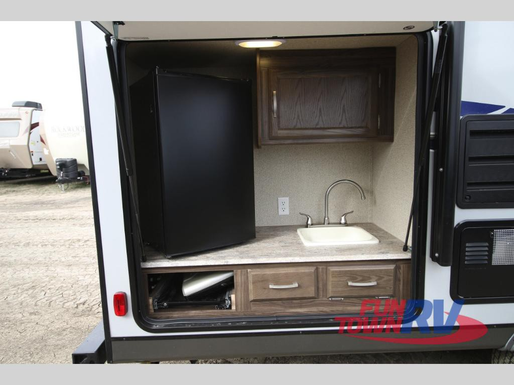 Coachmen Apex Ultra Lite Travel Trailer Outdoor Kitchen