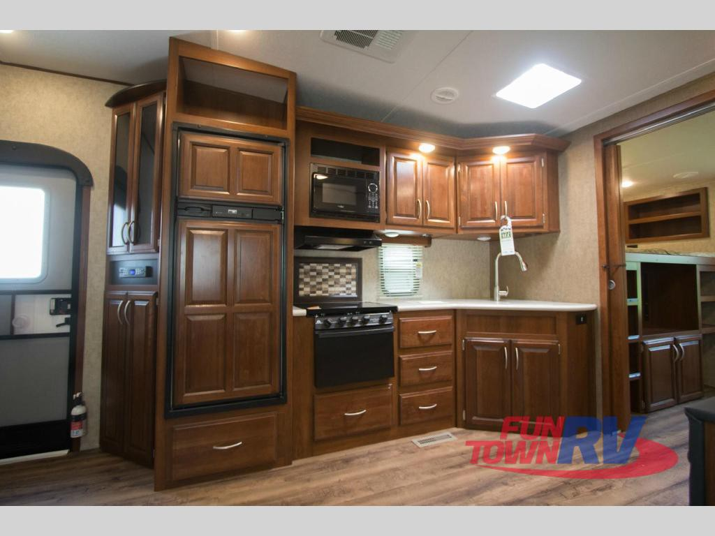 Forest River Wildcat Fifth Wheel Kitchen
