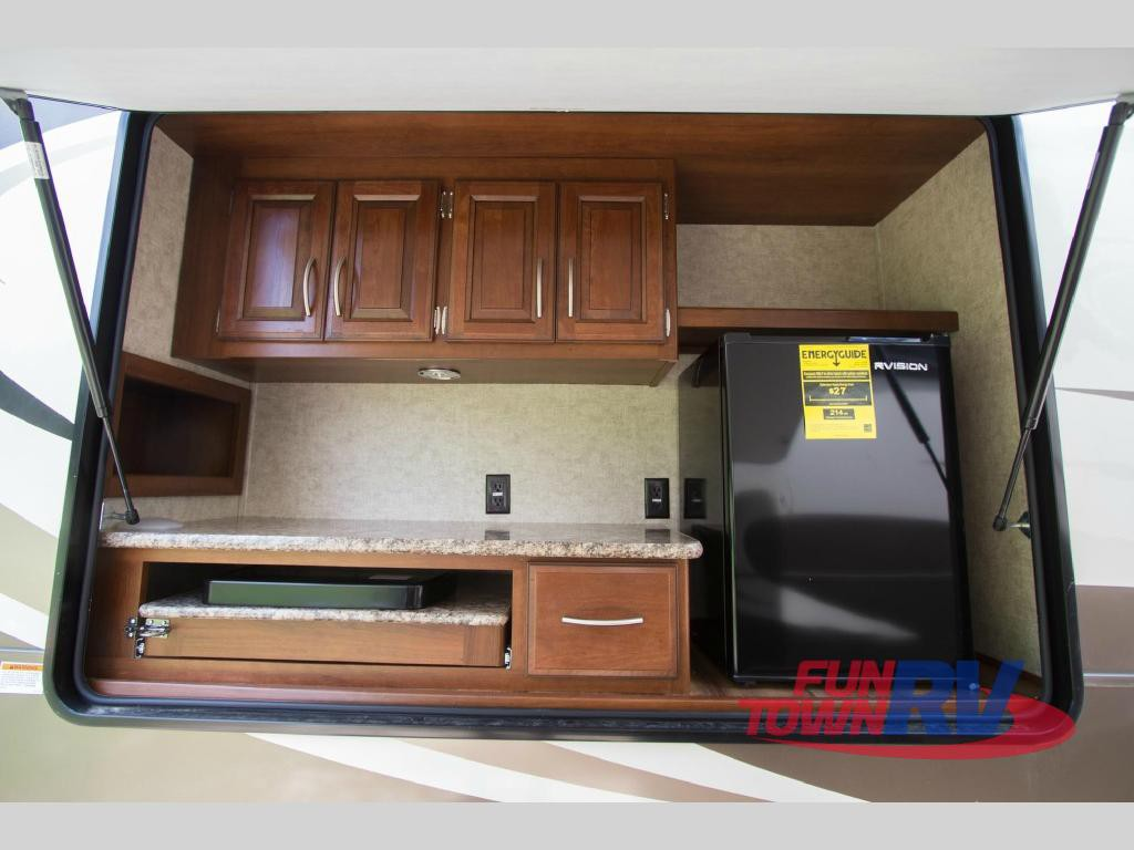 Forest River Wildcat Fifth Wheel Outdoor Kitchen