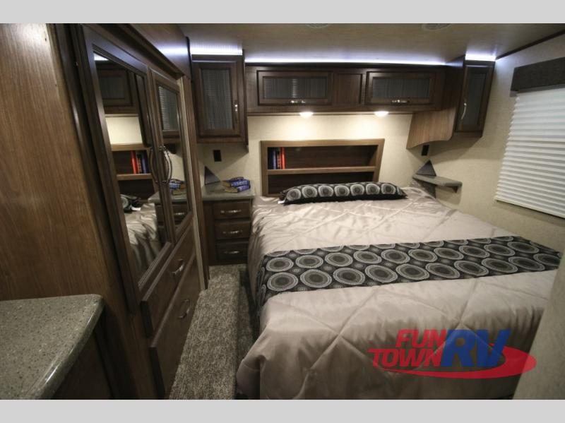 Cruiser Boss Fifth Wheel Toy Hauler Bedroom