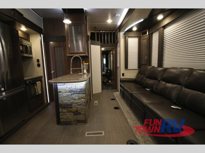 Cruiser Boss Fifth Wheel Toy Hauler Interior