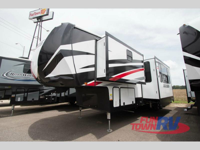 Cruiser Boss Fifth Wheel Toy Hauler