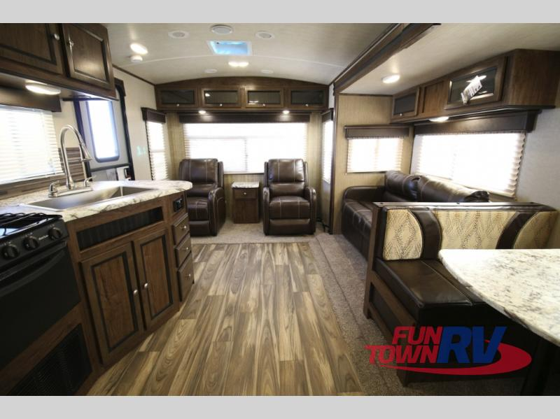 Cruiser MPG Travel Trailer Rear Living