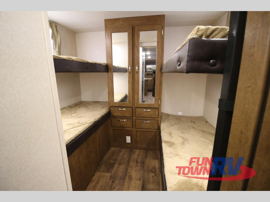 Forest River Wildwood X-Lite Travel Trailer Bunkhouse