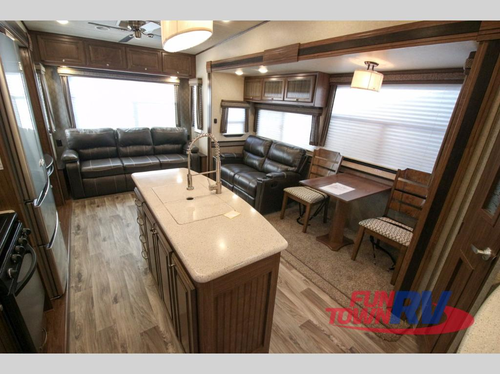 Heartland Elkridge Fifth Wheel Rear Living