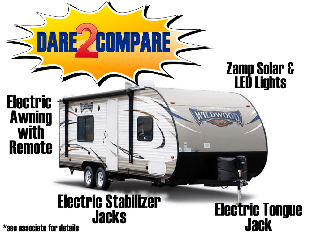 Forest River Wildwood Travel Trailer Dare To Compare
