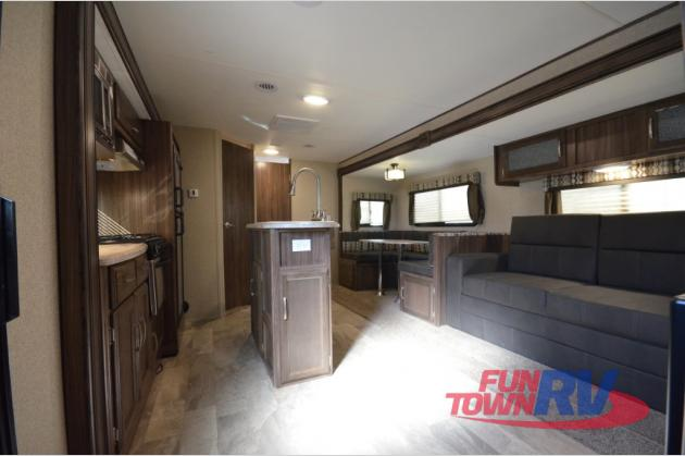 Coachmen Apex Travel Trailer Living Area