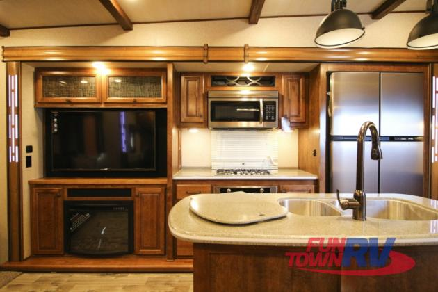 Cruiser South Fork Fifth Wheel Kitchen