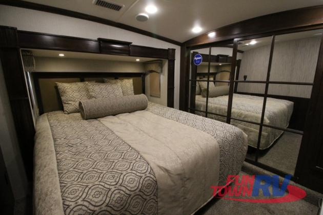 Forest River Cardinal Fifth Wheel Kitchen Bedroom