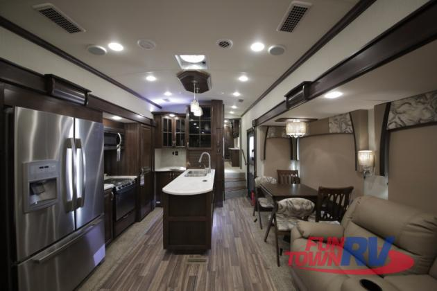 Forest River Cardinal Fifth Wheel Kitchen Interior