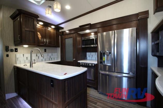 Forest River Cardinal Fifth Wheel Kitchen