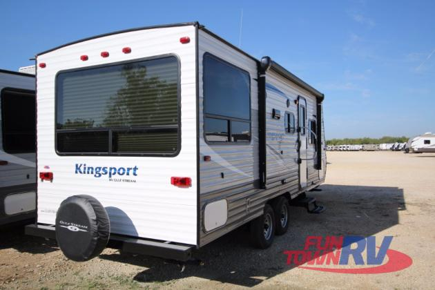 Gulf Stream Kingsport Travel Trailer Rear