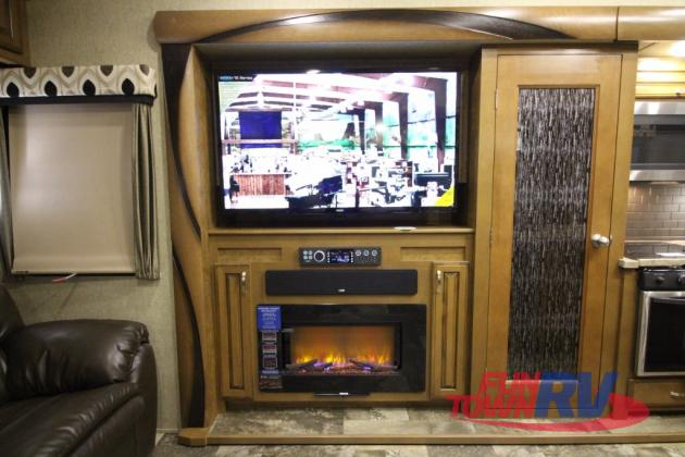 Forest River Cedar Creek Hathaway Edition Fifth Wheel Fireplace