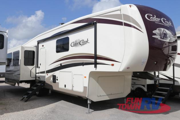 Forest River Cedar Creek Hathaway Edition Fifth Wheel