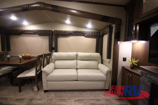 Forest River Cedar Creek Silverback Fifth Wheel Cathedral Ceiling