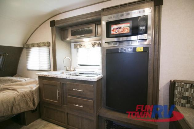 Forest River R-Pod Teardrop Travel Trailer Interior Kitchen