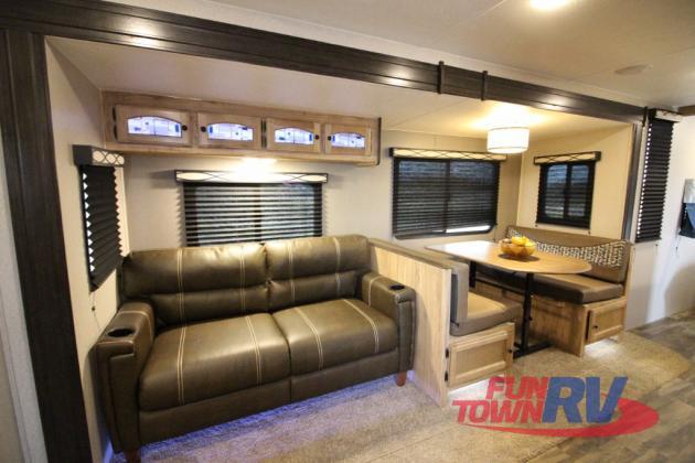 Coachmen Freedom Express Travel Trailer Seating