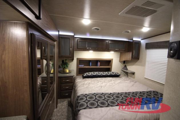 Cruiser Boss Fifth Wheel Toy Hauler Bedroom