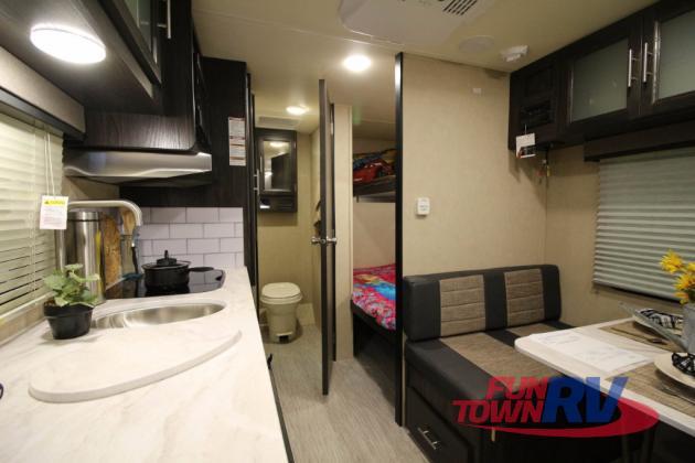 Dutchmen Kodiak Cub 175BH Bunkhouse Travel Trailer Interior