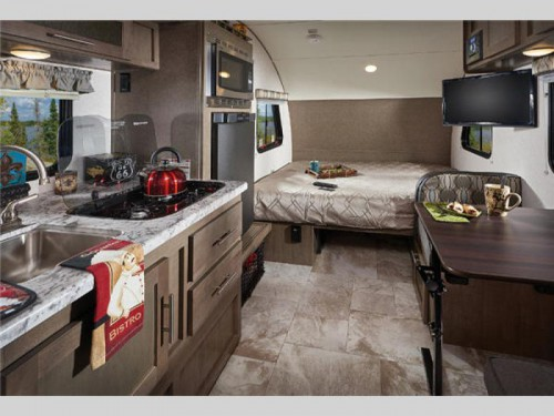 Forest River R-Pod Travel Trailer Interior
