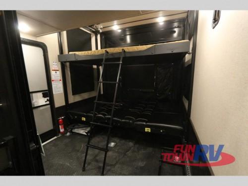 XLR Thunderbolt Fifth Wheel Toy Hauler Interior